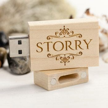 Custom shaped rubber USB Flash Drives