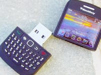 Blackberry USB custom shaped