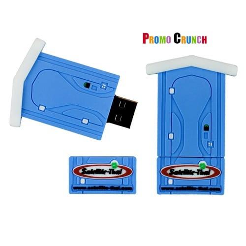 portable toilet USB Flash Drive