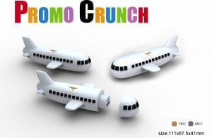 airplane custom power bank