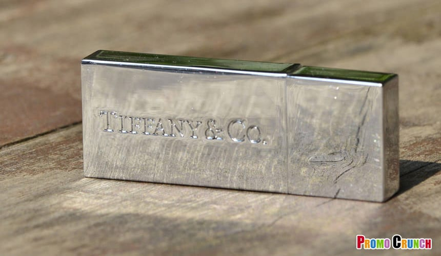 Tiffany & Co. Custom Flash Drive by Promo Crunch