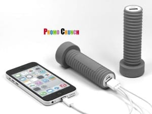 Custom PVC Power Banks made from rubber. perfect for marketing