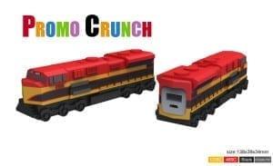 custom molded PVC Power Banks from Promo Crunch