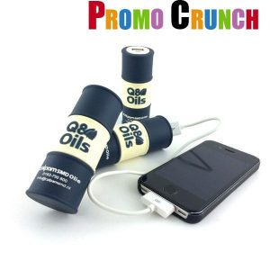 custom made power banks. Custom mold your logo or product into a promotional product giveaway power banks