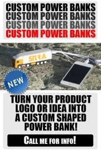 Custom Power Banks. Trust the experts