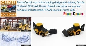 backhoe flash drive