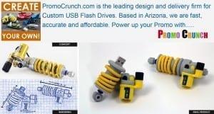 shock absorber custom flash drive