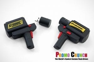 radar gun custom shaped USB flash drive for marketing and promotion