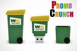 waste management flash drive