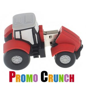 tractor shaped memory device flash drive USB