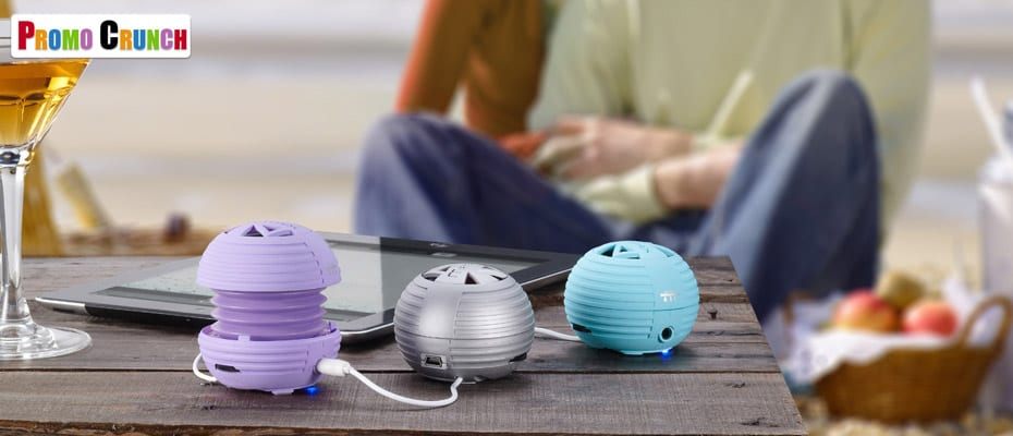 Bluetooth speakers for marketing, advertising and promotional products.