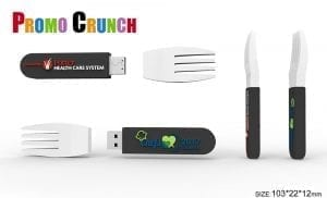 3D custom shaped promotional products including flash drives, power banks and more,