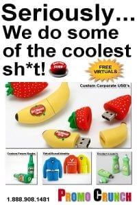The worlds best custom shaped and designed flash drives