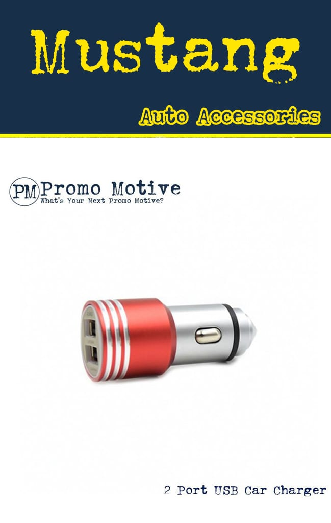 Red USB Phone Charger