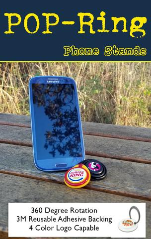 POP ring and pop socket phone holders for tradeshow giveaway and promo swag marketing