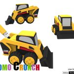 bobcat digger custom shaped USB Flash Drive memory sticks