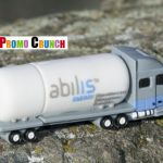 Tanker Truck Custom shaped PVC USB Flash Drives
