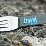 Fork shaped custom flash drive