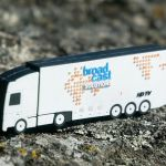 Truck Custom shaped PVC USB Flash Drives