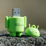 Android custom usb pvc rubber flash drives