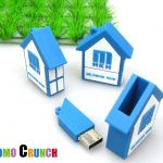 house shaped custom usb custom pvc power banks for marketing and promotional