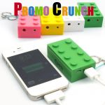 lego shaped world's best custom molded power bank portable battery charger