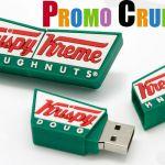 krispy kreme custom usb custom pvc power banks for marketing and promotional