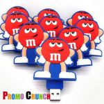 m and m's custom usb custom pvc power banks for marketing and promotional