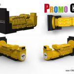 generator diesel shape world's best custom molded power bank portable battery charger