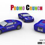 race car world's best custom molded power bank portable battery charger
