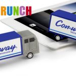 delivery truck custom pvc power bank for promo