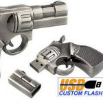 Gun_Custom_Rubber_USB_Flash_Drives