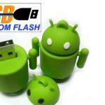 robot_Custom_Rubber_USB_Flash_Drives