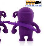 Ninja_Custom_Rubber_USB_Flash_Drives