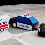 Police_Custom_Rubber_USB_Flash_Drives