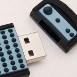 remote_control_Custom_Rubber_USB_Flash_Drives