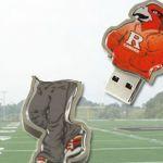 Rutgers_Custom_Rubber_USB_Flash_Drives