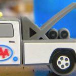 tow_truck_Custom_Rubber_USB_Flash_Drives