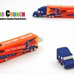 long haul truck PVC and rubber custom shaped and molded flash drives and USB Memory sticks for marketing and advertising. Corporate, b2b, promotional products. The perfect logo promotion.
