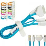 Promotional chargers, car chargers, cables and ear buds are a great way to power up your brand.