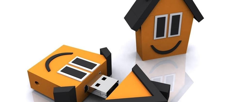 """House shaped custom flash drive.. Promo Crunch. Home to the """"World's Coolest Custom 3D Flash Drives"""". Turn your logo, idea or product into a 3D custom shaped USB flash drive."""