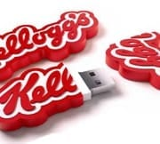 "Kellogg flash drive. Promo Crunch. Home to the ""World's Coolest Custom 3D Flash Drives"". Turn your logo, idea or product into a 3D custom shaped USB flash drive."