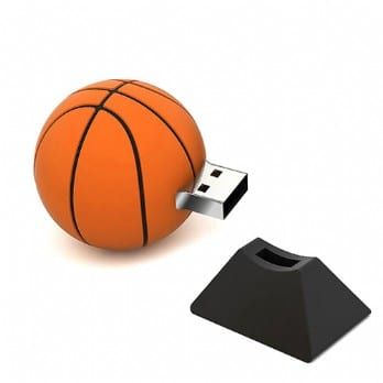 custom usb flash drive basketball