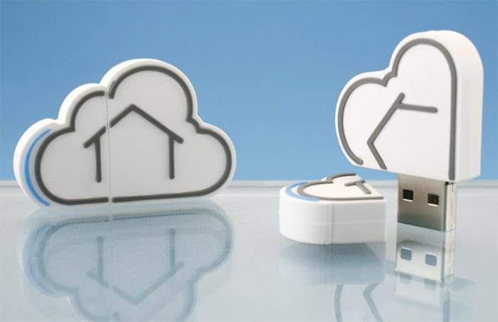 cloud custom flash drive