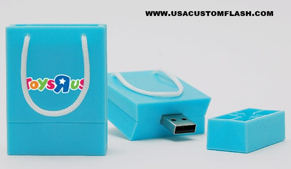 Custom bag shaped USB