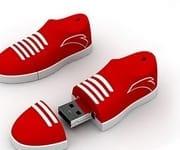 sneaker runner usb drive