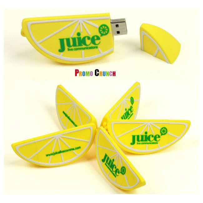 lemon slice USB