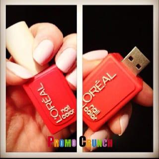 Nail Bottle USB Flash Drive