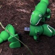 Custom shaped 3D rubber usb flash drives