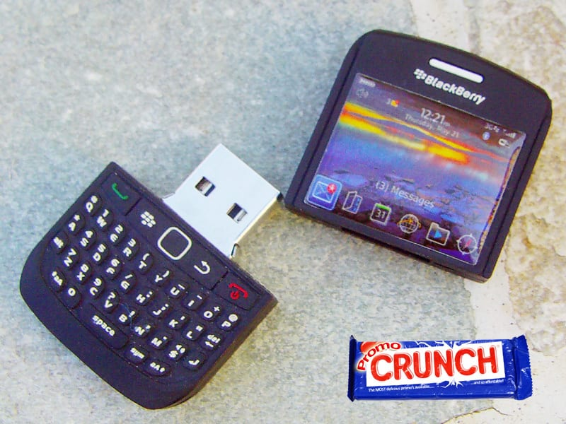 cell phone custom rubber flash drive